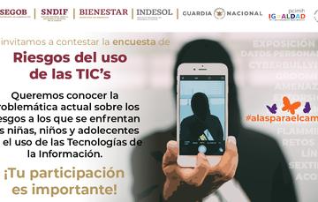 Banner encuesta Riego del uso de las TIC's