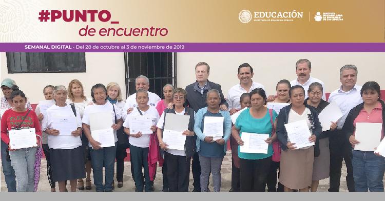Inauguran en Querétaro la Plaza Comunitaria Número 64