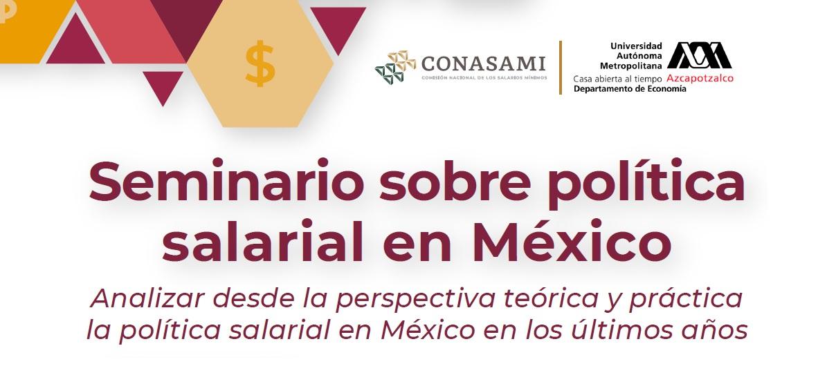 Imagen ilustrativa del seminario sobre política salarial en México