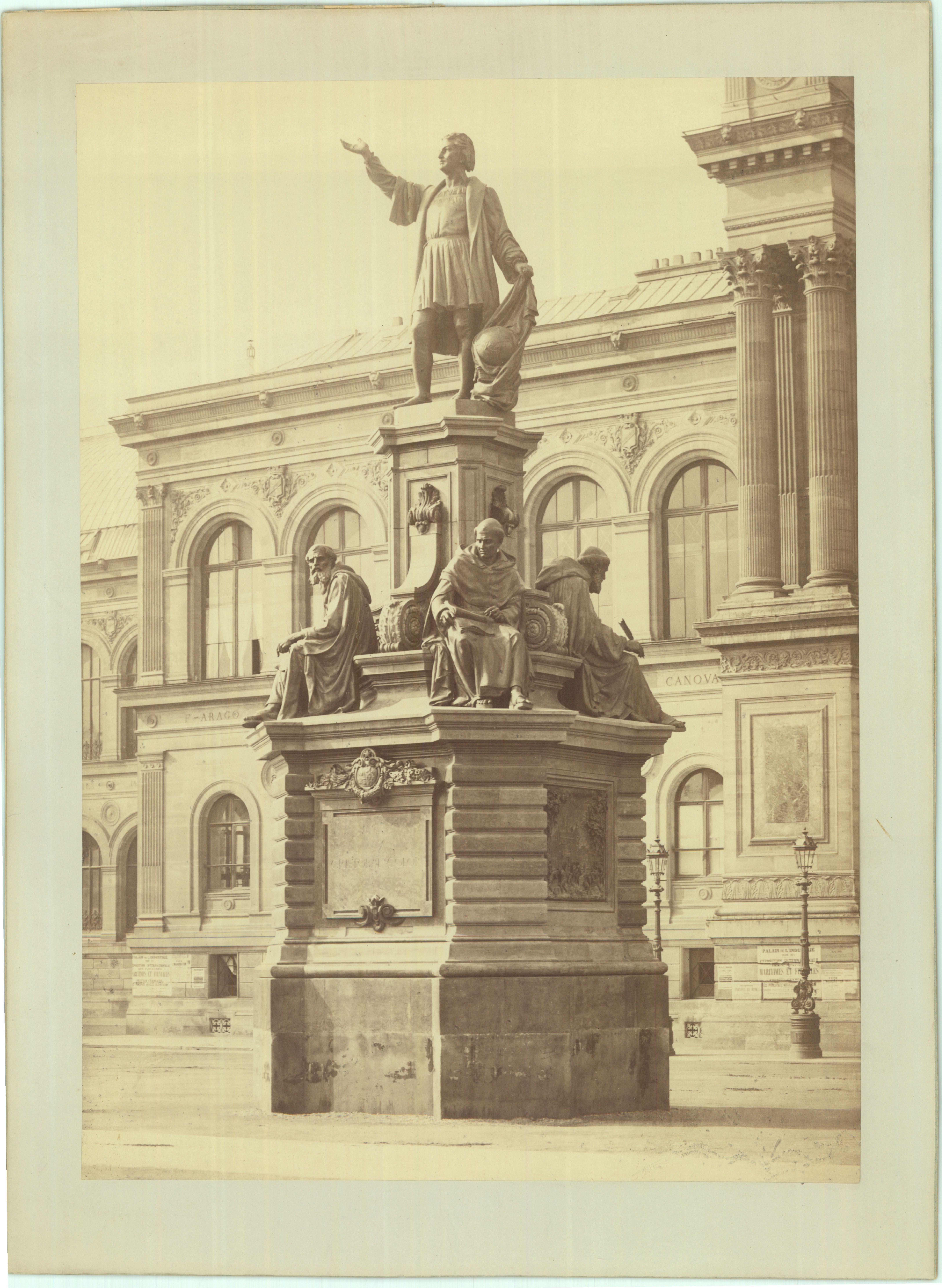 En el acervo de la Mapoteca Manuel Orozco y Berra, se encuentra una ilustración de la estatua del navegante, cartógrafo y geógrafo español, Crstóbal Colón, misma que ahora se conoce como el Monumento a Colón y se puede apreciar en Paseo de la Reforma.