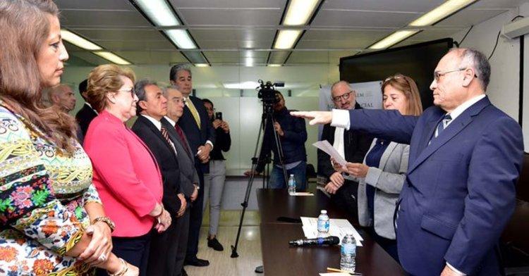 Toma posesión Salvador Landeros Ayala como Director General de la AEM