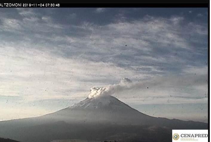 Monitoreo volcánico del Popocatépetl