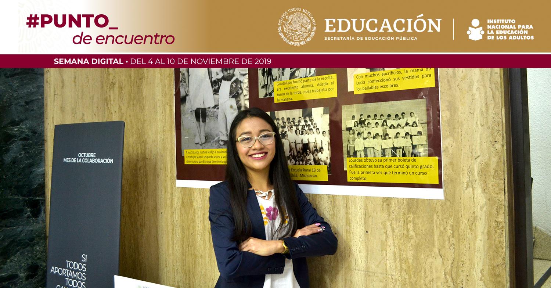 A impulsar la educación para jóvenes y adultos: Rodolfo Lara Ponte