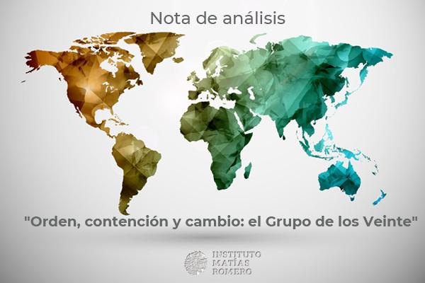 Notas de análisis #4 - Grupo de los Veinte