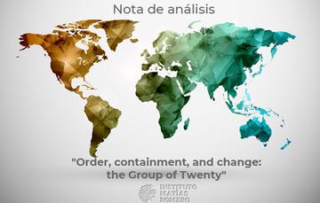 Analysis note #4 - The Group of Twenty