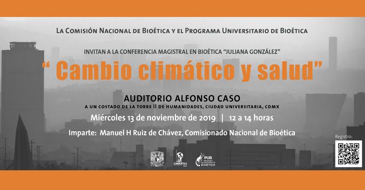 Conferencia Magistral en Bioética Juliana González