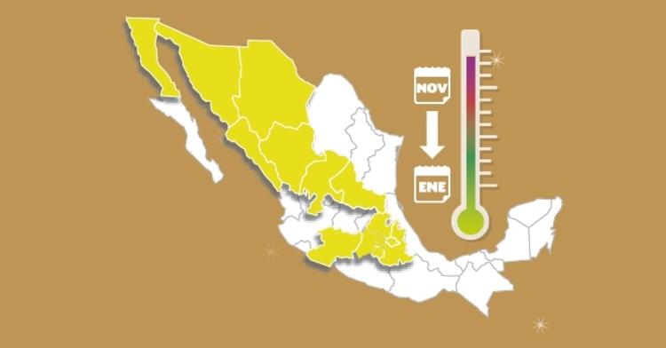 Infórmate del pronóstico a través de @conagua_clima