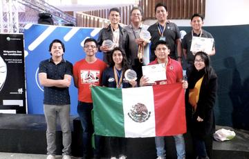 Boletín No.204 Estudiantes del TecNM obtienen siete medallas en torneo internacional de robótica