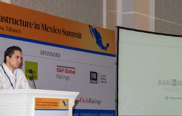 El Director General de Banobras, Jorge Mendoza Sánchez, participó en la 12a. Cumbre de Financiamiento e Infraestructura Subnacional en México LatinFinance; realizada en Villahermosa, Tabasco