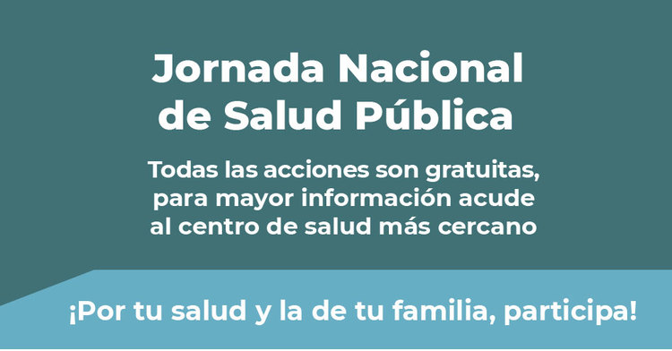 Primera Jornada Nacional de Salud Pública 2019