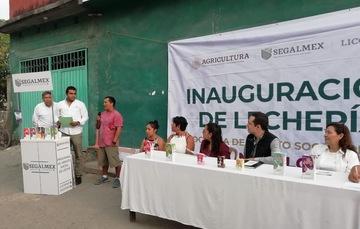 SEGALMEX-LICONSA REANUDA ACTIVIDAD EN LECHERÍA DE ZACATEPEC