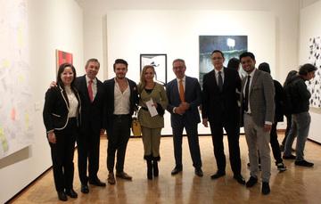Se inaugura la Segunda edición del Abierto de pintura Lumen en el Museo de la Cancillería