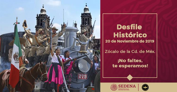 Imagen representativa de la revolución mexicana.