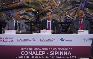 Firman CONALEP y SIPINNA convenio de colaboración para la protección y promoción de los derechos humanos de los adolescentes