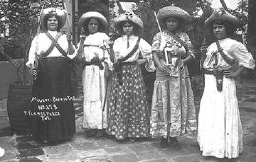 Mujeres en la revolución mexicana