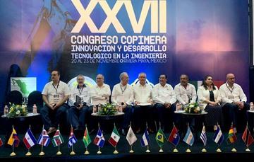 """Necesaria una ingeniería con calidad y sentido social: Secretario Jiménez Espriú, con presencia del Dr. Salvador Landeros Ayala, en XXVII Congreso COPIMERA """"Innovación y Desarrollo Tecnológico en la Ingeniería"""""""
