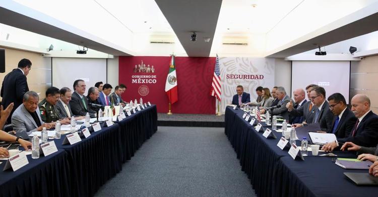Avanza estrategia binacional México – EE.UU. frente al tráfico ilícito de armas