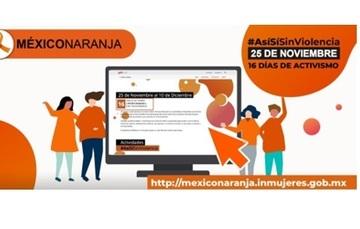 México se pinta de naranja