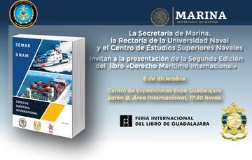Presentación del Libro Derecho Marítimo Internacional