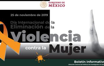 Boletin Informativo CCINSHAE, 25 de Noviembre de 2019
