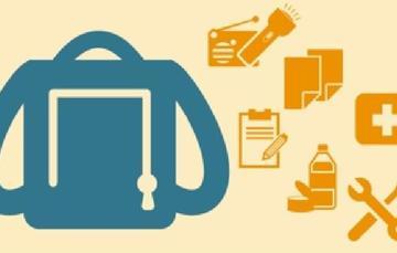 Prepara una mochila de emergencia, la cual te ayudará afrontar las primeras 48 horas después de un desastre