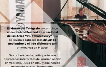 """""""Primer Día del Festival Internacional de las Artes P.I. Tchaikovsky"""""""