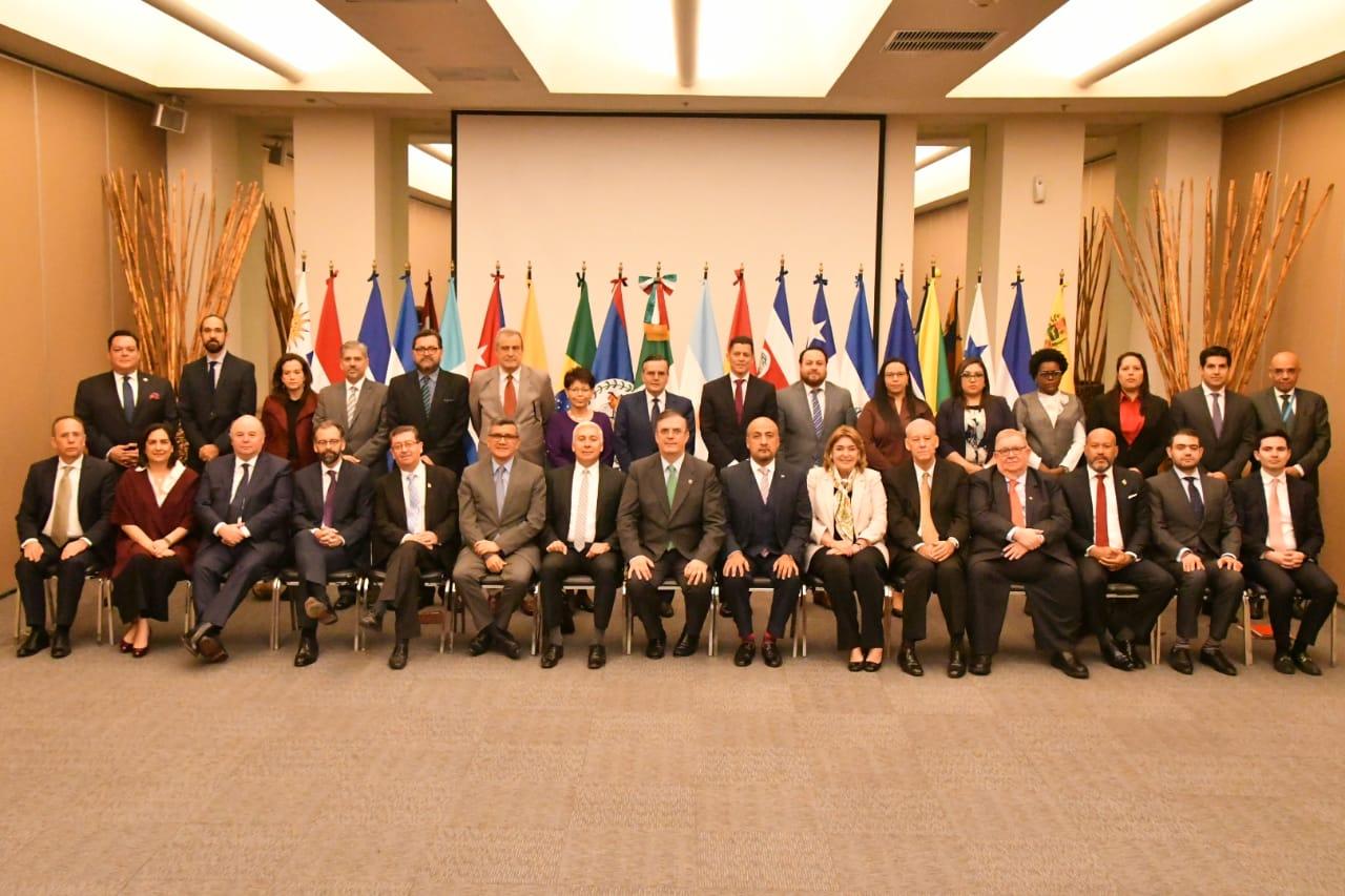 México presenta propuesta de plan de trabajo para la presidencia de CELAC 2020