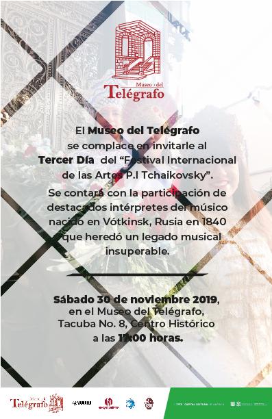 Música y Danza Sábado 30 de Noviembre