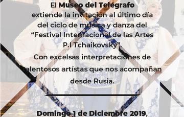 Música y Danza Domingo 1 de Diciembre