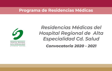 Convocatoria Cd Salud 2020