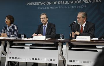Serán utilizados los resultados PISA 2018 como una herramienta para el mejoramiento continuo de las evaluaciones y de la educación: Esteban Moctezuma Barragán