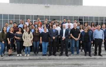 Personal de IFT y participantes de la Comisión Técnica Regional de Telecomunicaciones (COMTELCA)