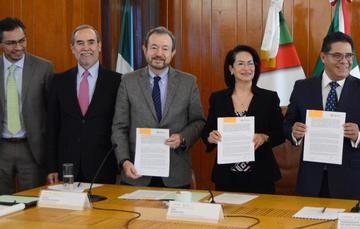 Firma de convenio FND - Bienestar