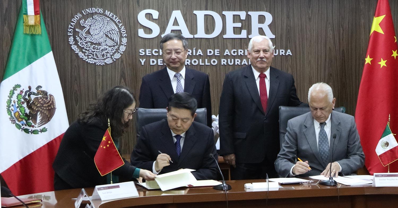 México abrió recientemente el mercado chino a productos agroalimentarios