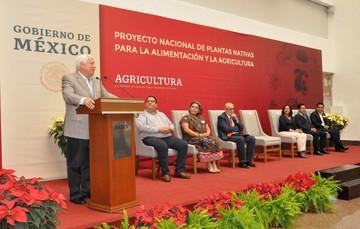 Palabras de bienvenida por parte del Secretario de Agricultura