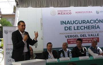 LICONSA inaugura punto de venta de leche en polvo en Aguascalientes