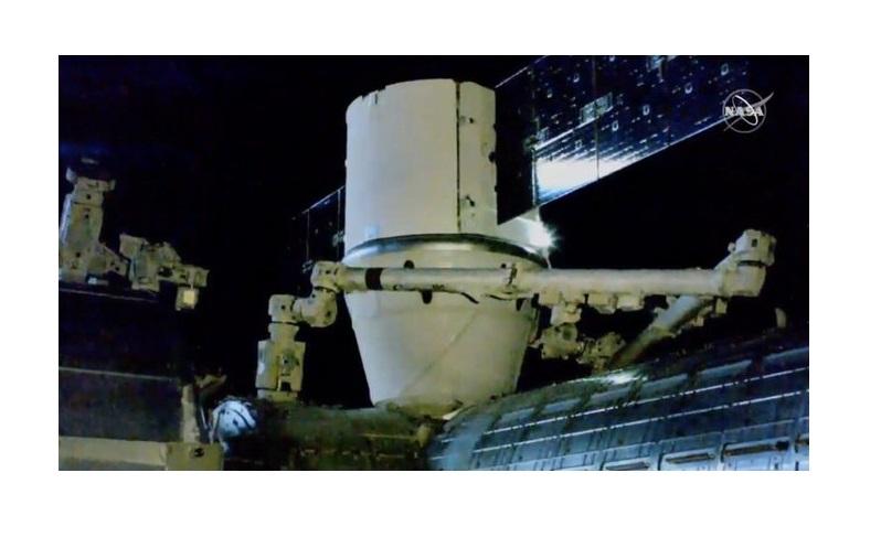 Llega Nanosatélite mexicano AztechSat-1 a la Estación Espacial Internacional