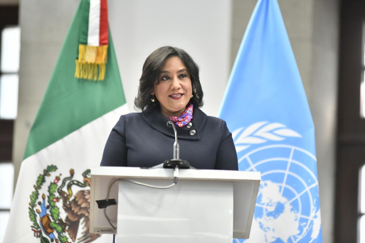Anuncia Irma Sandoval adhesión de México a los principios de divulgación de transparencia de los beneficiarios finales de la corrupción