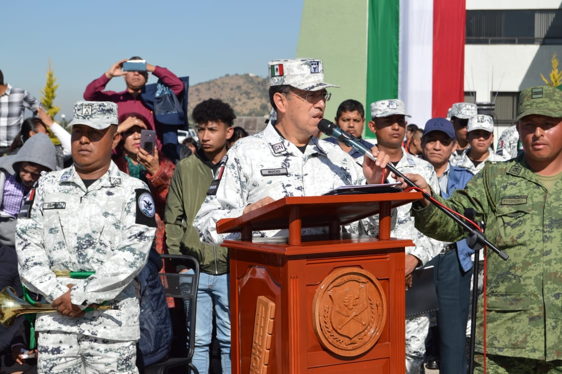 3 mil elementos concluyen cursos de formación inicial de Guardia Nacional