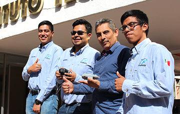 Equipo de estudiantes del Campus Querétaro fue reconocido por su excelente participación en la ExpoCiencias Nacional, donde se presentaron más de 500 proyectos.