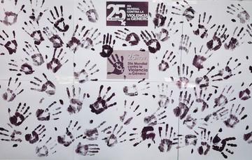 Lunes 25 de noviembre día Internacional de la lucha contra la violencia de género