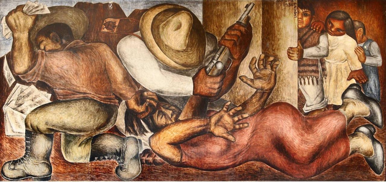 Atentado a las maestras rurales, 1936, por Aurora Reyes.