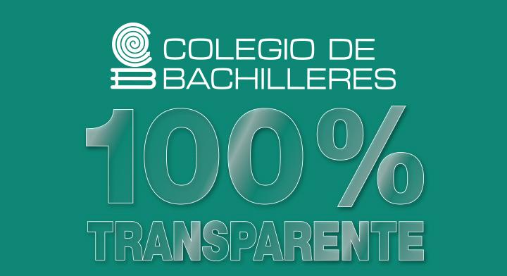 El Colegio de Bachilleres obtiene dictamen de institución 100% transparente