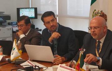 Representantes del INEEL presentes en el Taller de Electromovilidad para el desarrollo de Mesoamérica