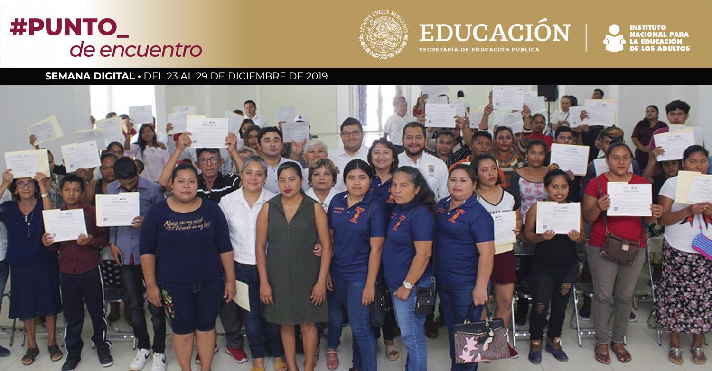 Aporta INEA su Modelo Educativo en Aula Móvil Capitalina