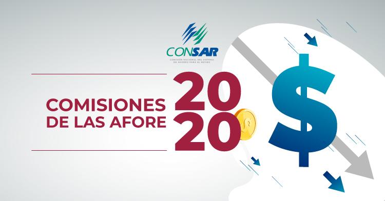 Comisiones autorizadas a las AFORE para 2020