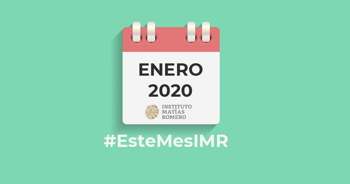 Este mes en el IMR: enero 2020