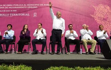 Presidente Andrés Manuel López Obrador en Ayala, Morelos