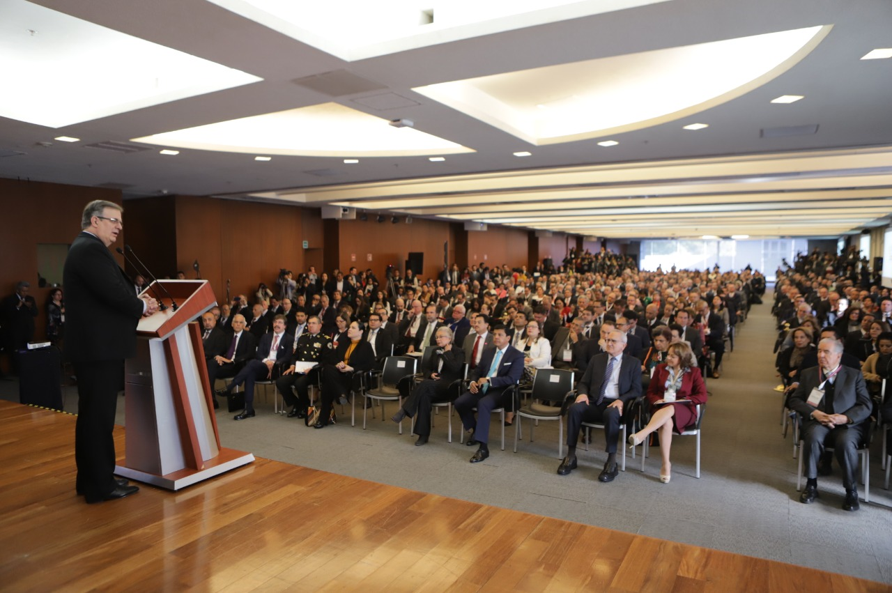 Foreign Secretary Marcelo Ebrard inaugurates 31st Meeting of Ambassadors and Consuls