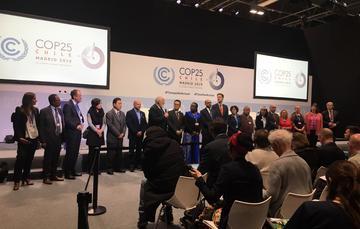 •El gobierno mexicano ratifica su apoyo incondicional al multilateralismo, así como su compromiso con la Convención Marco de las Naciones Unidas sobre el Cambio Climático y con el Acuerdo de París.